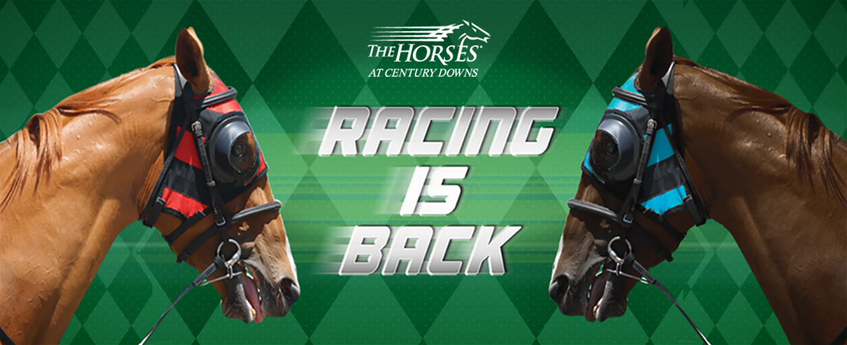 Racing is Back at Century Downs
