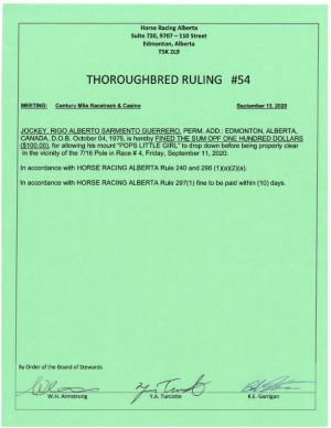 Ruling T054-2020