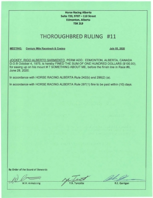 Ruling T011-2020