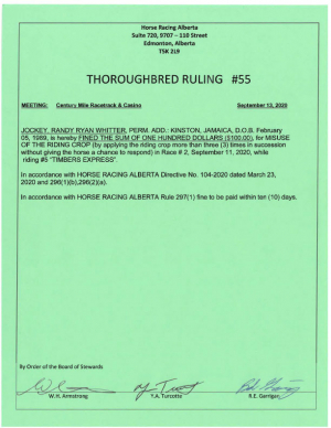 Ruling T055-2020