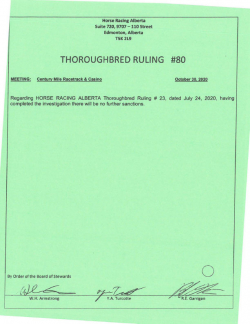 Ruling T080-2020