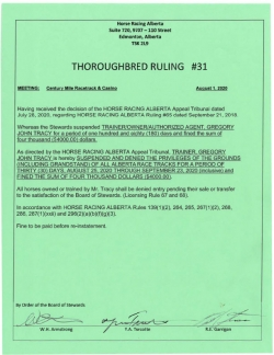 Ruling T031-2020