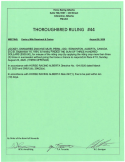 Ruling T044-2020