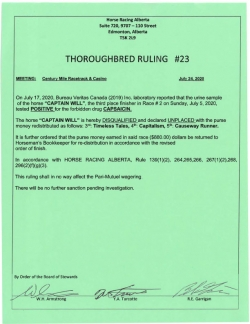 Ruling T023-2020