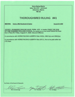 Ruling T041-2020