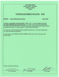 Ruling T042-2020