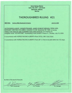 Ruling T021-2020