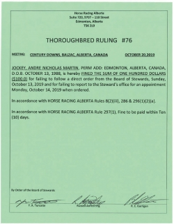 Ruling T076-2019