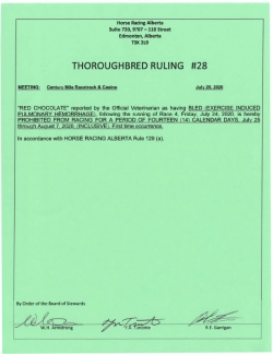 Ruling T028-2020