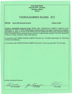 Ruling T072-2020
